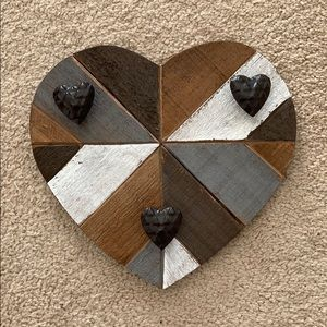 Decorative Heart With Hooks
